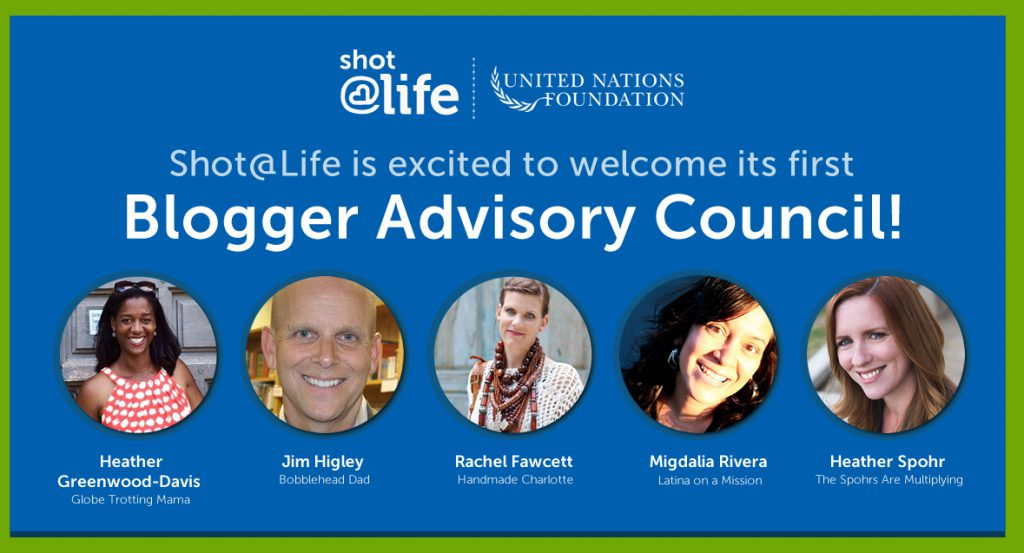 Shot@Life Welcomes New Blogger Advisory Council