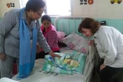 Dr. Watson treats patients in Honduras.